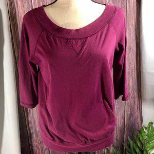 Comfy Quarter Length Sleeve Shirt